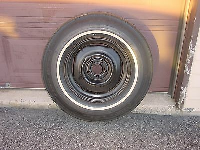 Vintage Goodyear Power Cushion Factory Spare From 1969 Chrysler 300 8.55-15