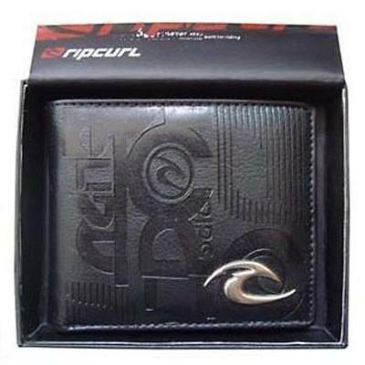 New with Box Rip Curl Men's Surf PU Leather Wallet  VALENTINE Gift #101