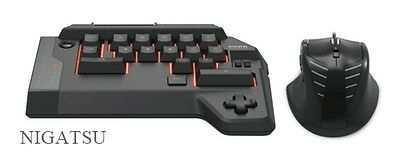 NEW HORI TAC4 Tactical Assault Commander for PS4/PS3 Keyboard Mouse from JAPAN