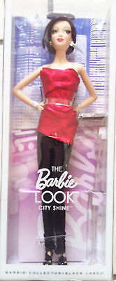 NEW Collector 2015 The Barbie Look City Shine Red Asian