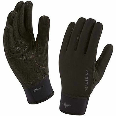 Sealskinz Women's Performance Competition Riding Glove Waterproof Black Large