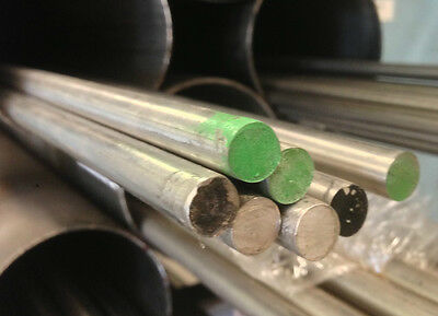 STAINLESS STEEL ROUND BAR 8mm DIAMETER X 300mm LONG