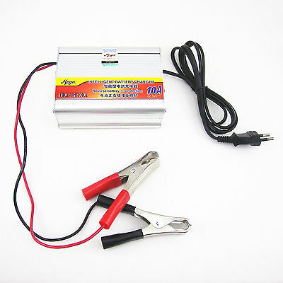 Universal 12V 50AH-105AH 10A Lead Acid Battery Charger YXBC-1210 Motorcycle