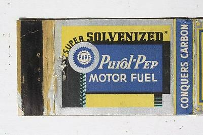 1940-50s Era Madison,Wisconsin Ray Andrew Pure Oil Gas Service Station matchbook