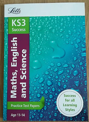 Letts KS3  English, Maths & Science (ages11-14) NEW!!!