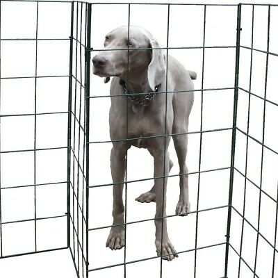 FlexiPanel Foldable Dog Barrier Fencing Gate Run Pen Fence Garden-1 Metre High