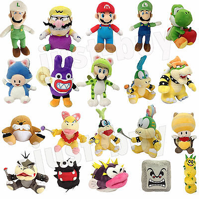 New Super Mario Bros. U 3D World Land Plush Soft Toy Stuffed Animal Doll Teddy