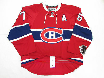 """Subban Montreal Canadiens Authentic Home Reebok Edge 2.0 7287 Jersey With """"a"""""""