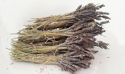 Greek  Dried Lavender Bunches - Organic 300 stems 16 to 20 cm - Harvest 2016
