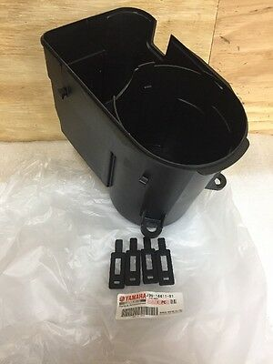 Yamaha Golf Cart Air Box Bottom G2-G9 Air Cleaner Case Housing With Rubber Hooks