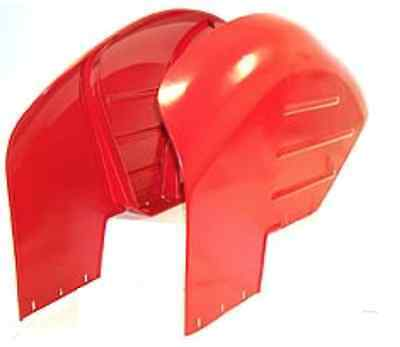 Pair Of Curved Mudguards To Suit Massey Ferguson Mf135 Mf148 Mf240 250