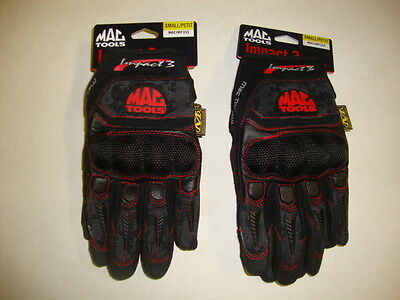 2 pairs  of mac tool  Mechanix Wear gloves size small great for dirt bikes also