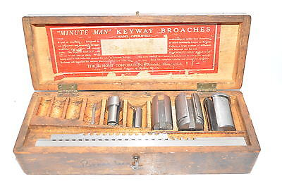 Dumont Minute Man No. 10 Broach Set in Wood Box
