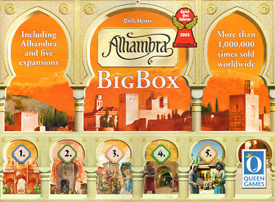 Alhambra Big Box | Queen Games - Board Game New