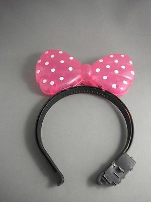 Flashing Minnie Bow - with batteries