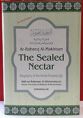 The Sealed Nectar (Ar-Raheeq Al-Makhtum) (HB) Best Seller Islamic Book English