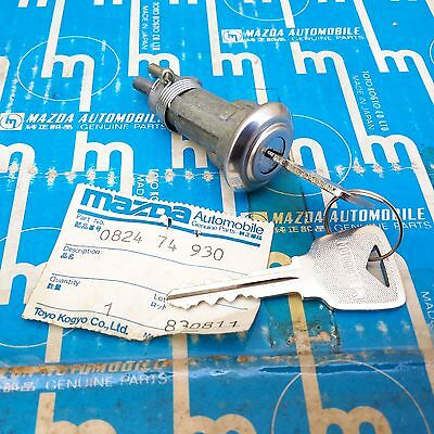 MAZDA LUCE A6 A7 1500 1800 Trunk Lid Lock Cylinder Assy Genuine Parts NOS JAPAN