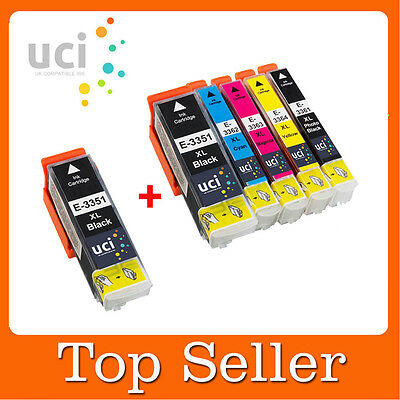 6 Premium Ink Cartridges for Epson Expression XP-530 XP-630 XP-635 XP-830