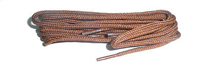 TAN Shoe and Boot Laces in THIN ROUND all lengths available