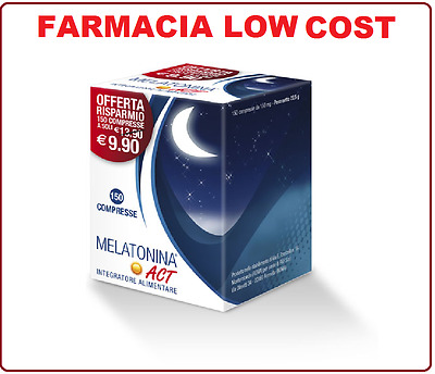 Melatonina Act Integratore Alimentare 150 Compresse