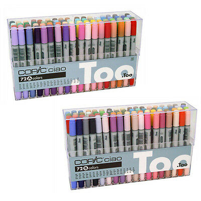Copic Ciao 72 colors Set A / B Manga Anime Comic Drawing Marker Express Shipping