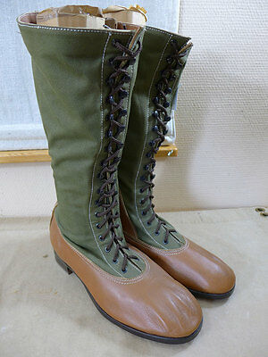 DAK Afrikakorps Stiefel HEER - High Boots tropical / Tropenstiefel Gr. 46 TOP !!