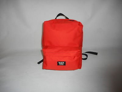 First aid backpack,emergency backpack,search and rescue bag Orang Made in U.S.A.