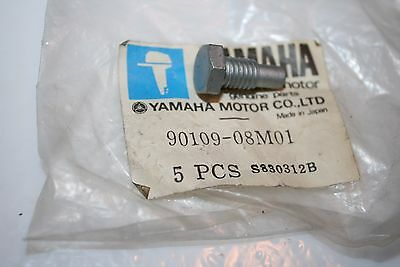 nos Yamaha outboard motor bolt 9.9 15hp engine control 90109-08m01