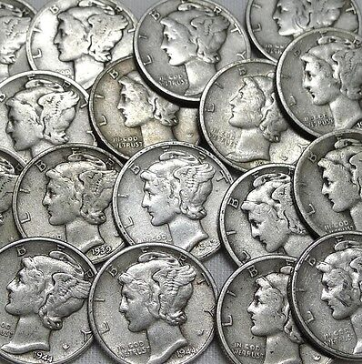 WORLD WAR I AND WORLD WAR II ESTATE COIN LOT! GREAT GIFT FOR HISTORIAN! 8 Coins!