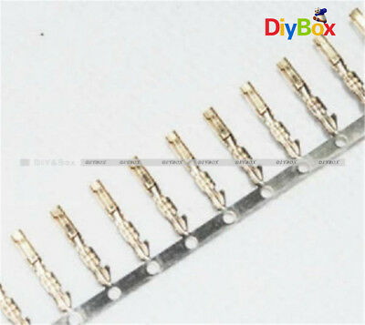 100PCS Dupont Jumper Wire Cable2.54mm Pitch for Male Pin Terminal Connector HOT