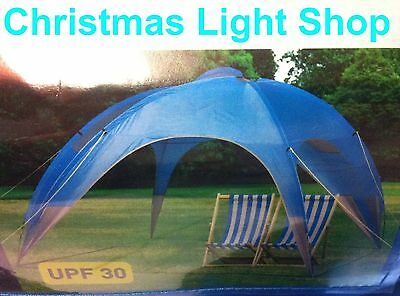 NEW Sun Shelter Canopy Beach Tent Gazebo 2.8 x 2.8m Summer Protection UPF 30