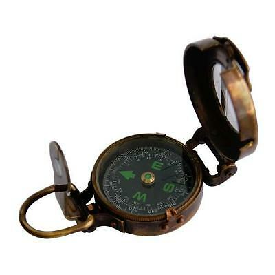 Engineers Compass with Radium Dial (PI-C017 (Leather Case))