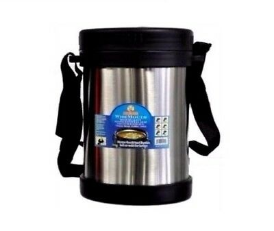 Cookinex Wide Mouth Vacuum Stainless Steel Food Jug Flask Jar Thermos 33.8 Fl Oz