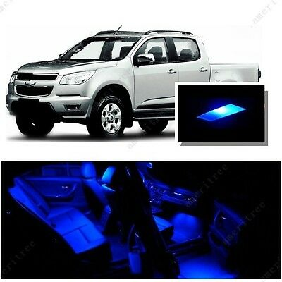 8pcs blue led interior lights bulb package kit for chevy colorado 2004 2012 picclick ca for Chevy colorado interior lights