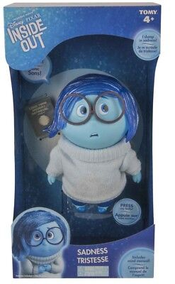 "NEW Inside Out 6.5"" Sadness Figure from Purple Turtle Toys"
