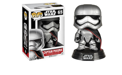 NEW Funko Star Wars - Captain Phasma Pop! Vinyl Figure from Purple Turtle Toys