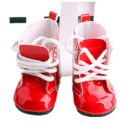 gift for kid fashion boot shoes for 18inch American girl doll party b379