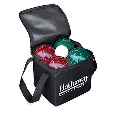 Bocce Ball Set Case 8 Carrying Game Lawn 9 Carry Sports Piece Bag Italy Outdoor