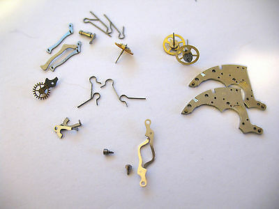 Venus,breitling 178  Assorted Watch Movement Parts
