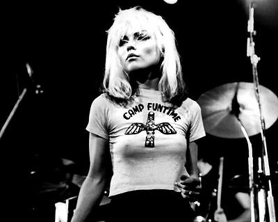 Debbie Harry Blondie New Wave Punk Singer Glossy Music Photo Print Poster A4