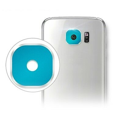 HI-TECH Blue Hat-Prince Rear Camera Lens Protective Cover for Samsung Galaxy S6