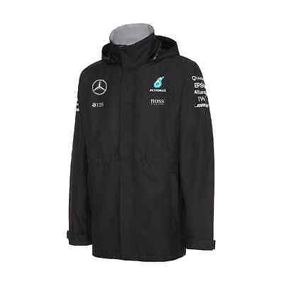 Mercedes AMG Petronas F1 Official Mens Team Rain Jacket - 2016 - Clearance price