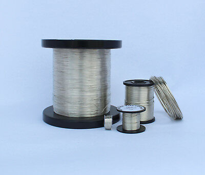 TINNED COPPER FUSE WIRE - FULL RANGE - 50grams