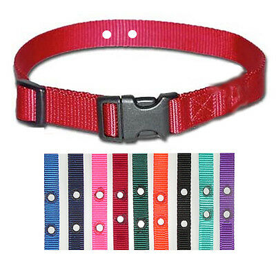 2 Sportdog Petsafe Compatible Replacement  Underground Nylon Dog Collars 3/4""