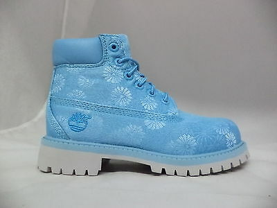 "Pre-School Timberland 6"" Classic Floral Boots-A197O"