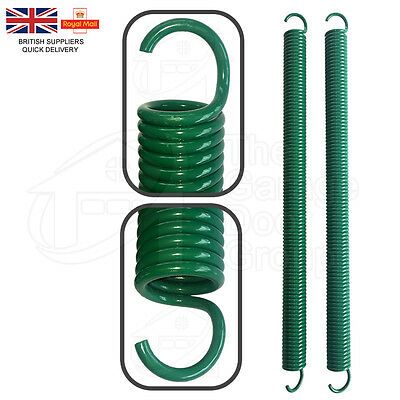 GREEN Replacement Henderson Dolphin Doric Double Garage Door Spring Spares Parts