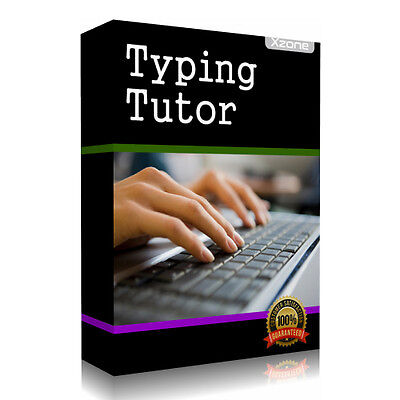 Touch Typing Tutor Software - Learn to Type Course CD Lessons Test Speed Fast