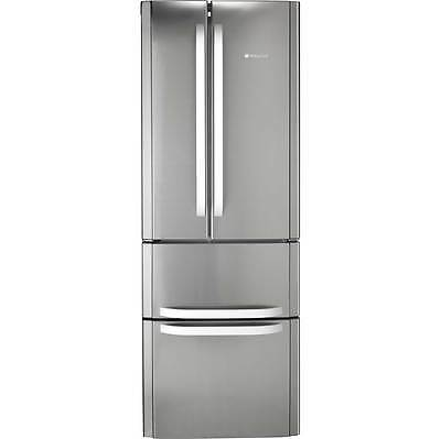 Hotpoint FFU4DX A+ Fridge Freezer Frost Free 60/40 70cm Free Standing Stainless