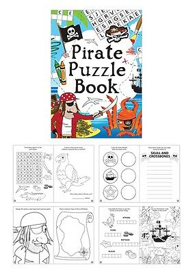 A6 Christmas Colouring and Puzzle Book 16 Pages Xmas Creative Stocking Filler