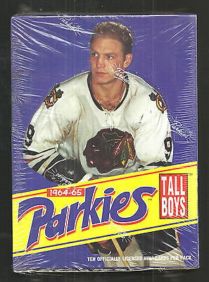 1994 Upper Deck Hockey Parkies Tall Boys 1964-65 Box Possible Gordie Howe Auto